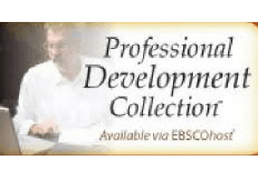 Professional Development Collection available via EBSCOhost