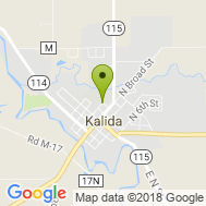 Map to Kalida-Union Township location