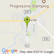 Map to Ottoville-Monterey Township location