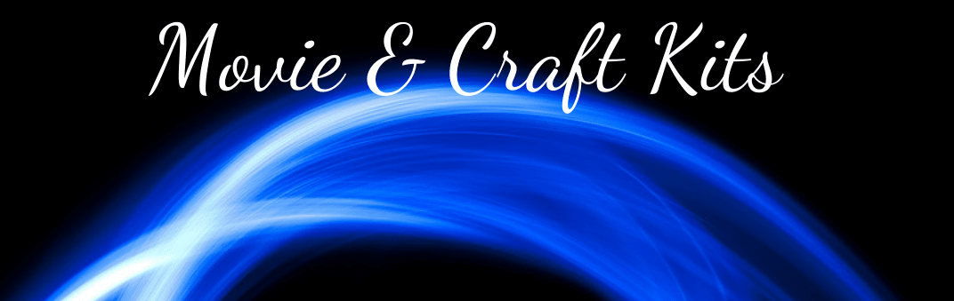 Movie and Craft kits blue light wave